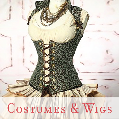costumes and wigs